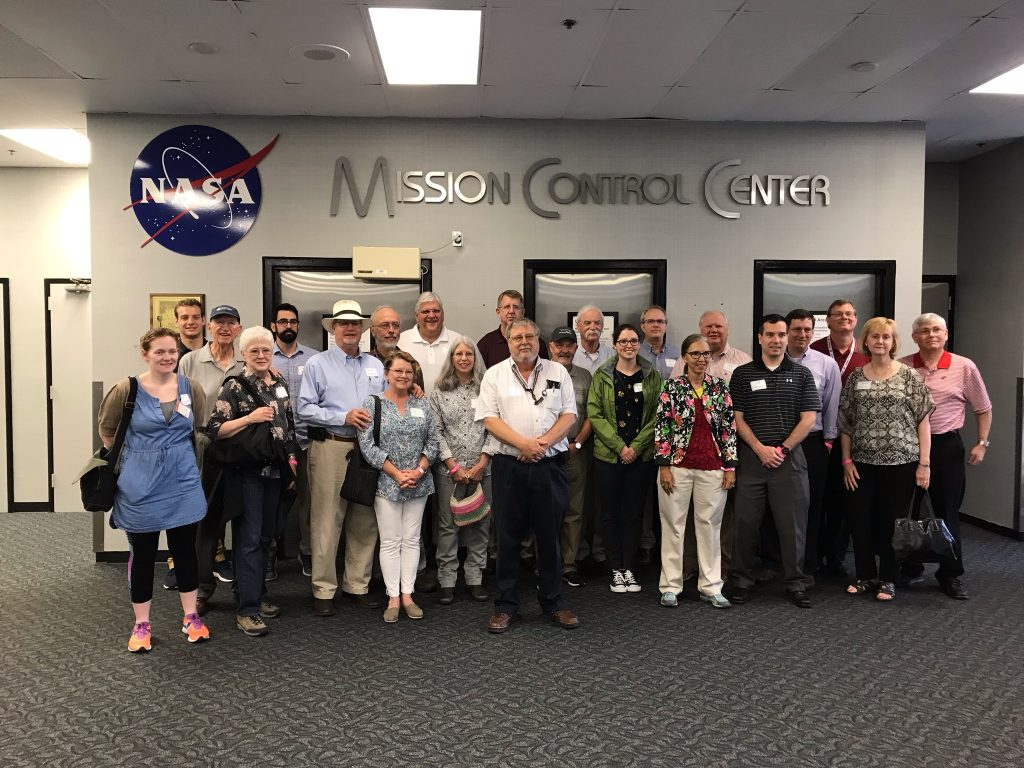 Advisory Board visiting NASA's Mission Control Center