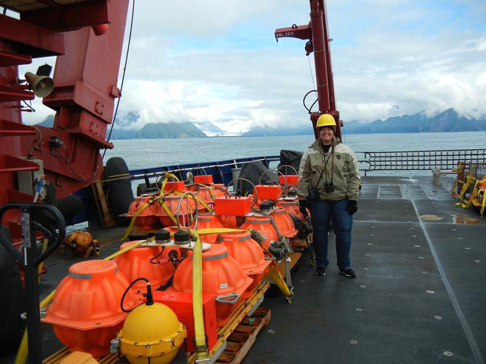 Dr. Samantha Hansen in Alaska