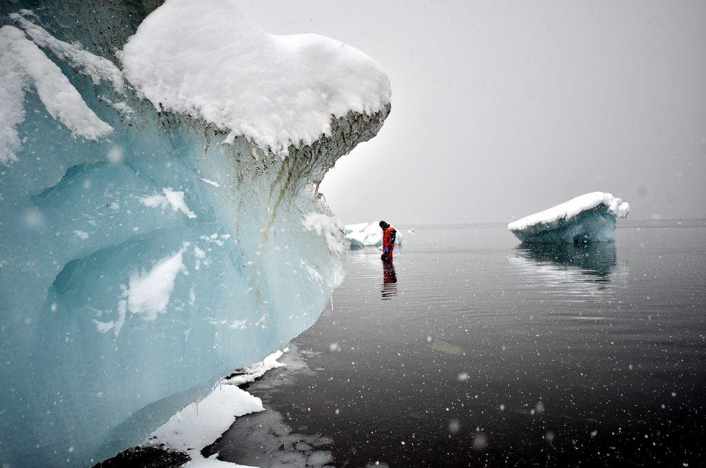 Dr. Tom Tobin in Antarctica