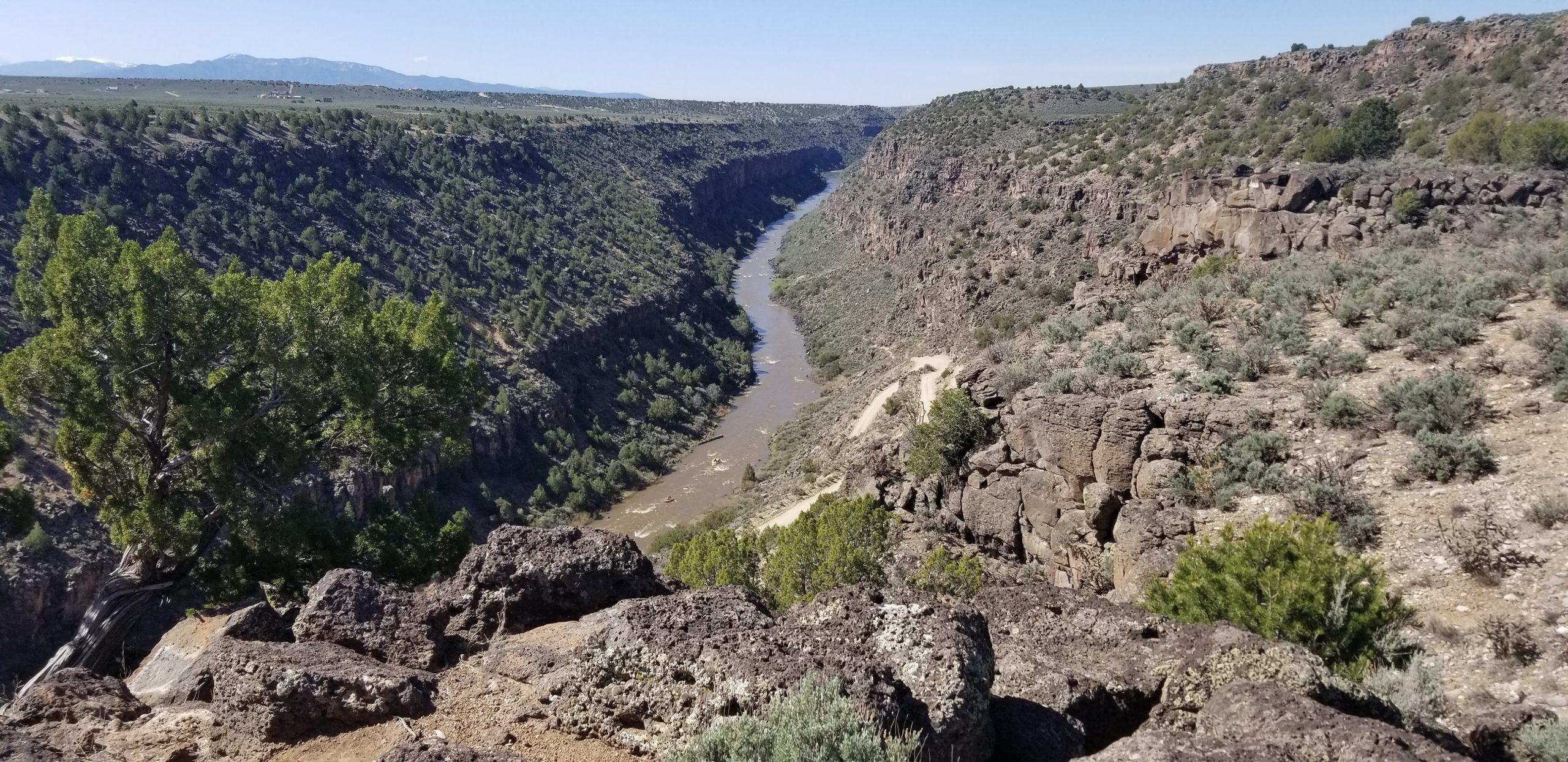 Rio Grande river landscape